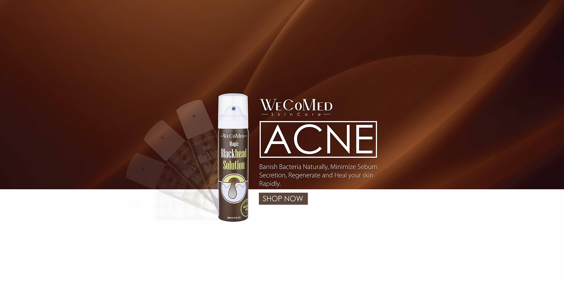 Shop Acne SkinCare Online at WeCoMed Malaysia & Singapore