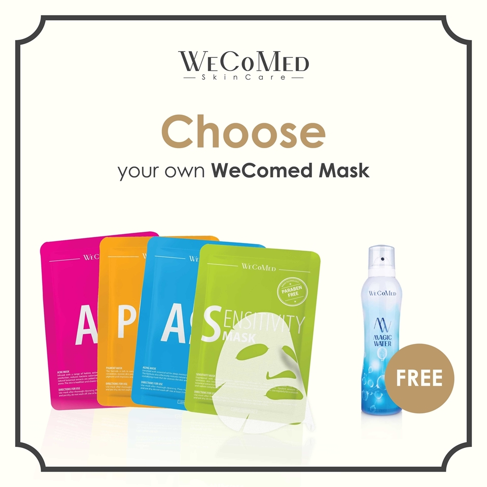 Picture of Choose WeCoMed Mask 10pcs & FREE Magic water 210ML