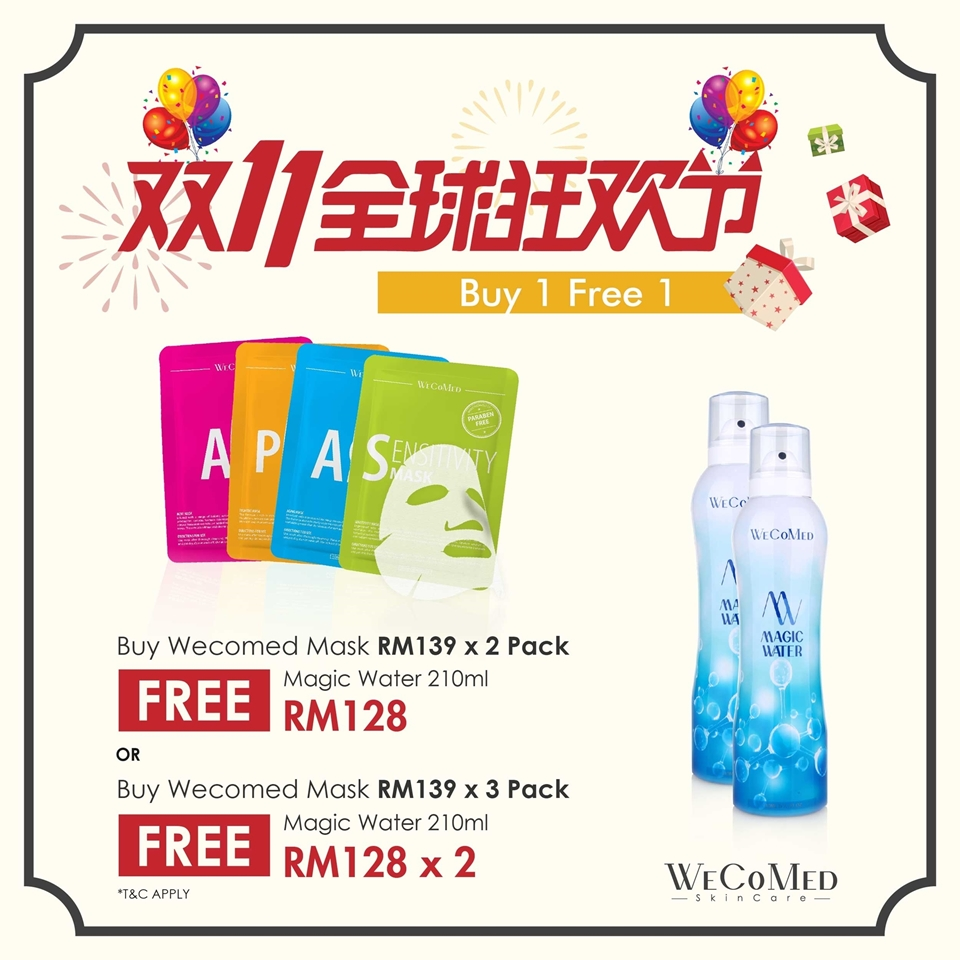 Picture of [Double 11] Buy Wecomed Mask FREE Magic water 210ml