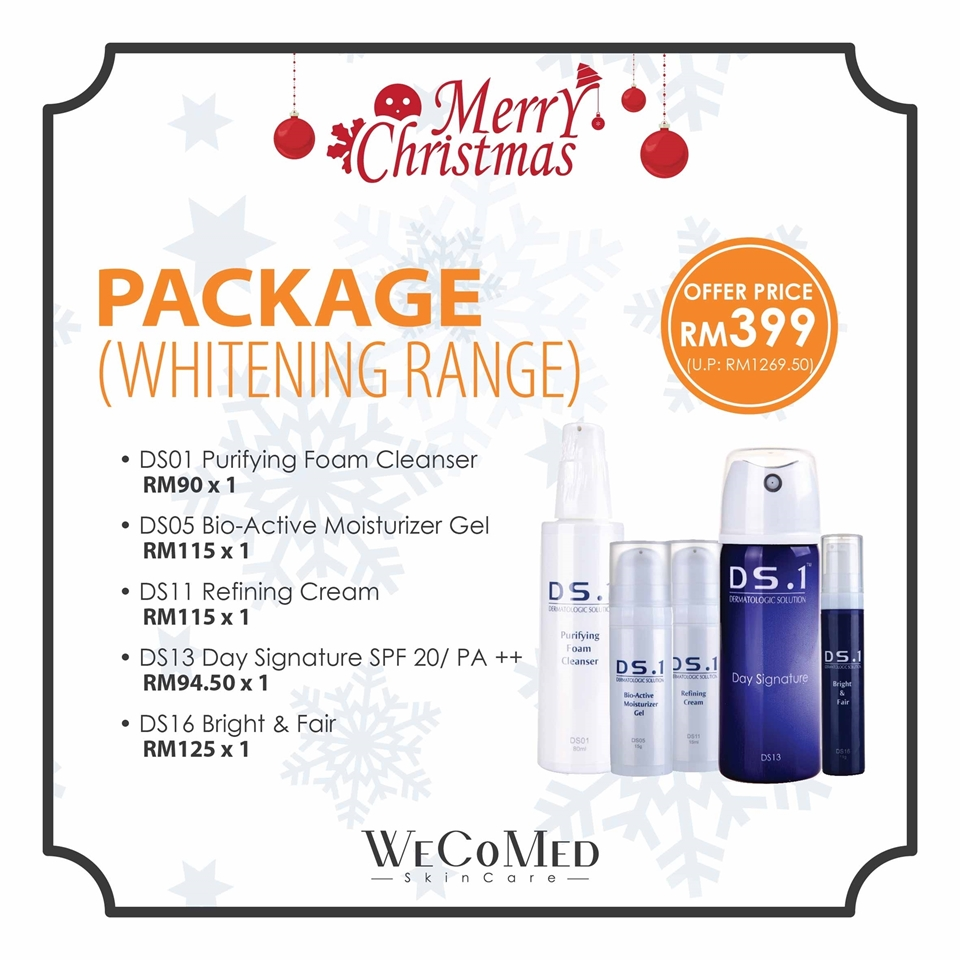 Picture of 【Christmas Promotion】DS.1 Whitening Package