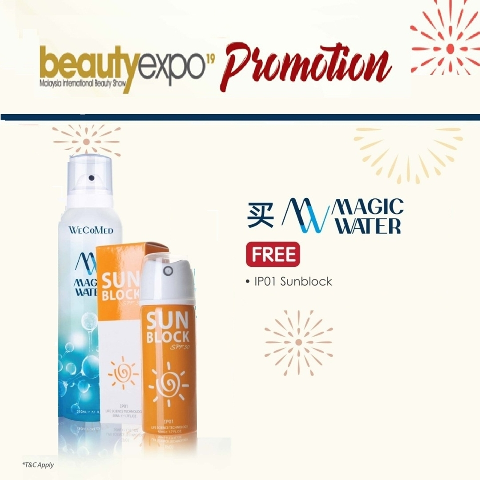 Picture of 【EXPO SALES】 Magic Water + IP01 Sunblock